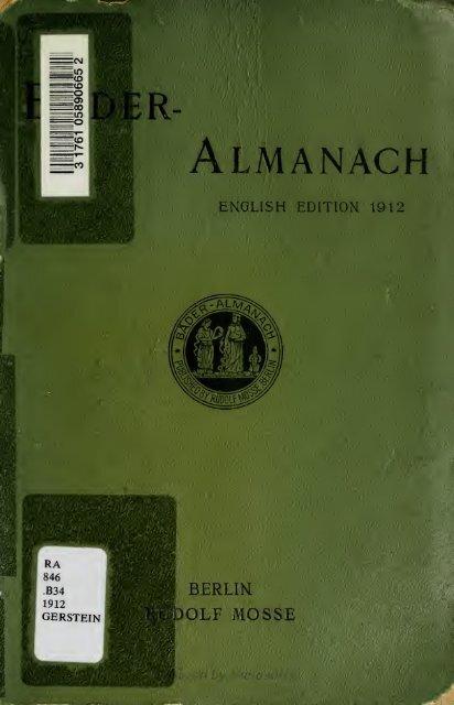 Almanach - Index of