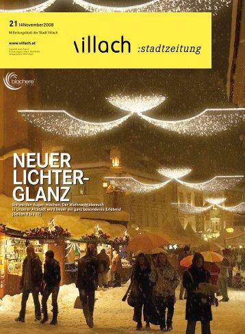 NEUER LICHTER- GLANZ - Villach