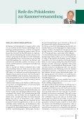 Frühjahrskammerversammlung 2010 Die korrekte Lagerung von ... - Seite 5