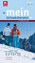 PDF Download - Hochpustertal