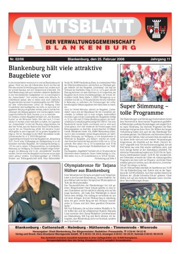 25. Februar 2006 - Blankenburg