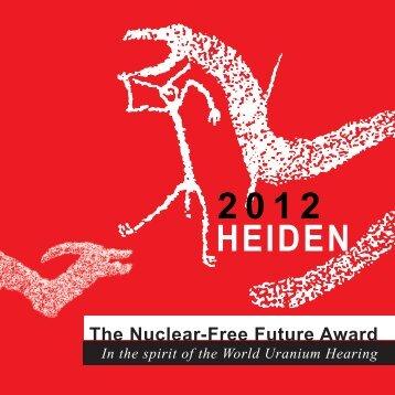 In memoriam - The Nuclear-Free Future Award