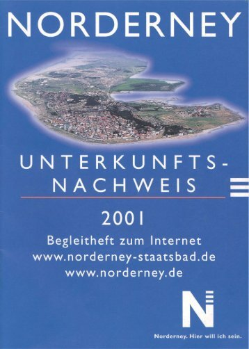 Kurverwaltung ggv-2001-st.pdf - Chronik der Insel Norderney