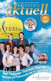 Bad Füssing Aktuell Juli 2012