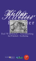 Kulturbegleiter - Marktgemeinde Bad Wimsbach-Neydharting