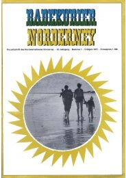 1971 Badekurier Frühjahrsausgabe - Chronik der Insel Norderney