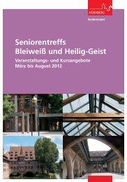 Seniorentreffs Bleiweiß und Heilig-Geist - Stadt Nürnberg