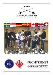 Fechten Kampf - Technik - Kunst - Akademie der Fechtkunst ...