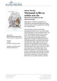 Niemand welkt so schön wie du - Verlag Antje Kunstmann