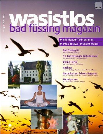 wasistlos badfüssing-magazin - Ausgabe September 2010