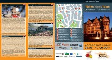 Flyer 2011 - Blomberg-Marketing