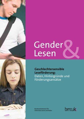 Gender Lesen - Bundesministerium für Unterricht, Kunst und Kultur
