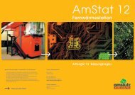 Flyer Wärmeübergabestation - Amstutz Holzenergie AG