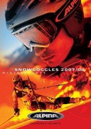SNOWGOGGLES 2007/08 8 - Alpina