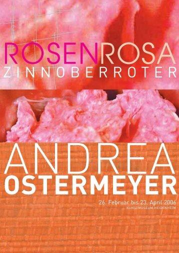 ZINNOBERROTER - Andrea Ostermeyer