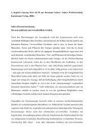 Solare Ressourcennutzung: Die neue politische ... - Hermann Scheer