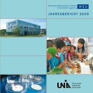 2009 - WissenschaftsZentrum Umwelt - Universität Augsburg
