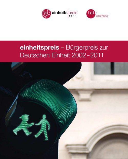 einheitspreis - Bundeszentrale für politische Bildung