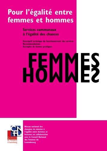 Pour l'égalité entre femmes et hommes - Esch sur Alzette