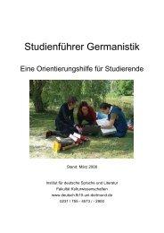 Stand - StudiGer - TU Dortmund
