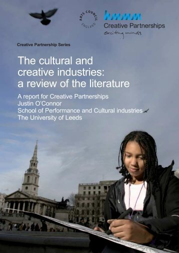 The cultural and creative industries: a review of the ... - Kulturekonomi