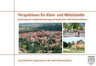 Perspektiven für Klein- und Mittelstädte - WikiService.at