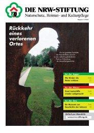 Rückkehr eines verlorenen Ortes - NRW-Stiftung