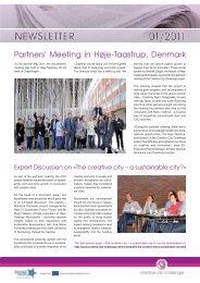 Newsletter No 4 - Interreg IVB North Sea Region Programme