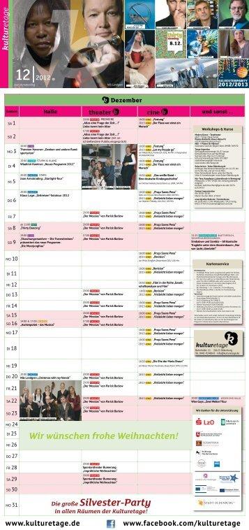 12 | 2012 - Kulturetage