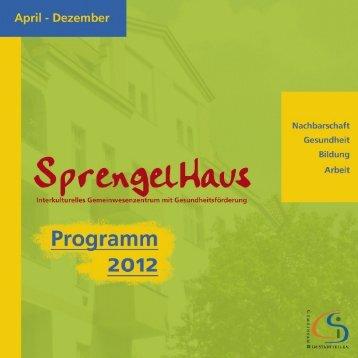 SprengelHaus Programm 2012