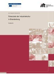 Potentiale der Industriekultur Brandenburg - Ministerium für ...