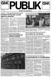 Publik. - Jg. 14.1991, Nr. 5 - KOBRA - Universität Kassel