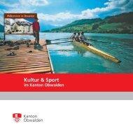 Kultur & Sport - Kanton Obwalden