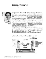 Coaching lancieren - NLP Akademie Schweiz