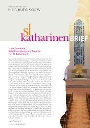 (PDF) | Februar bis April 2013 - Hauptkirche St. Katharinen | Hamburg