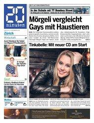 Zürich Mörgeli vergleicht Gays mit Haustieren - 20 Minuten