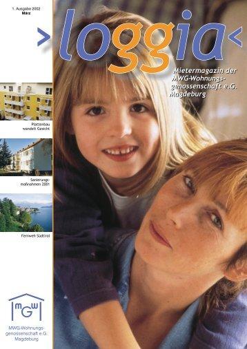 Mietermagazin der MWG-Wohnungs- genossenschaft e.G. ...