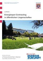 Energiespar-Contracting in öffentlichen Liegenschaften - Berliner ...
