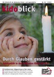 Durch Glauben gestärkt - Bethanien Kinderdörfer gGmbH