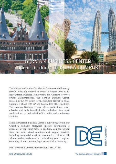 Ahk Malaysia S German Business Center Deutsch Malaysische