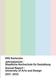 University of Arts and Design - Staatliche Hochschule für Gestaltung ...