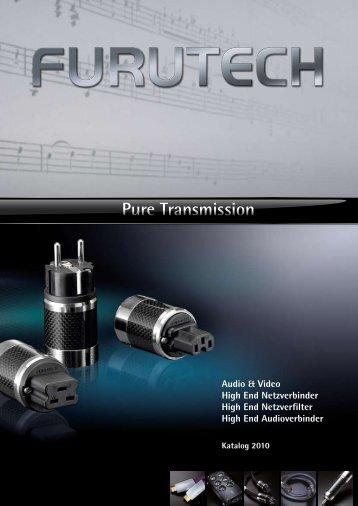 Pure Transmission - COCON HighEnd HiFi