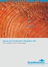 Inkasso der Creditreform Küng Bern AG wir realisieren Ihre ...