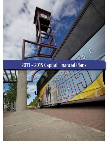2011 - 2015 Capital Financial Plans - City of Prince George