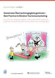 Gemeinsam Übernachtungsgäste gewinnen – Best ... - STNet.ch