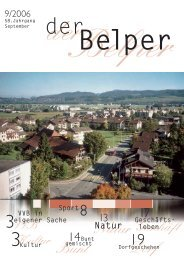 September 2006 - Der Belper