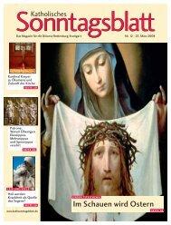 Im Schauen wird Ostern - Volto Santo