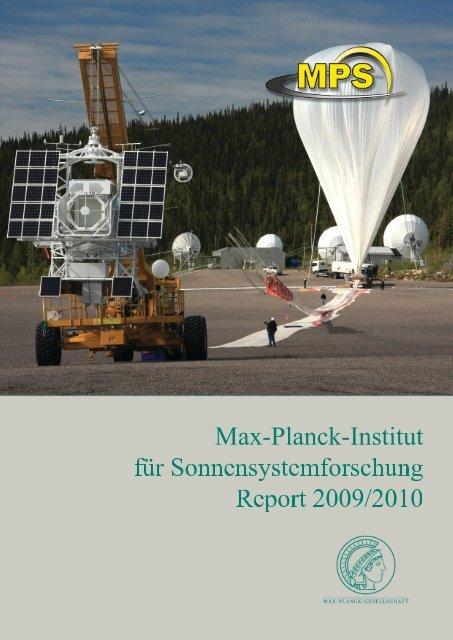 MPS Report 2009/2010 - Max-Planck-Institut für ...