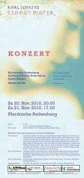 KONZERT - Sinfonieorchester Rothenburg
