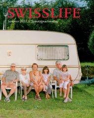 Magazin SWISSLIFE Sommer 2011
